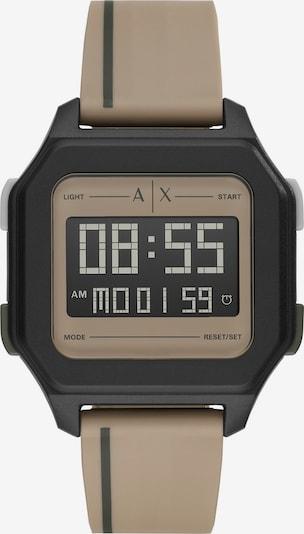 ARMANI EXCHANGE Armani Exchange Herren-Uhren Quarz ' ' in braun / schwarz, Produktansicht