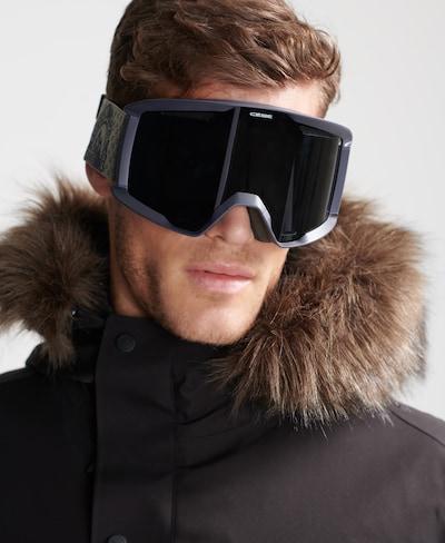 Superdry Sportbril 'Reference' in de kleur Olijfgroen / Zwart: Vooraanzicht