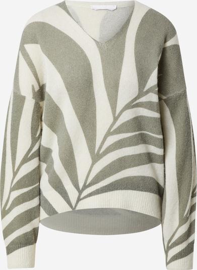 Megztinis iš BOSS Casual , spalva - alyvuogių spalva / balta, Prekių apžvalga