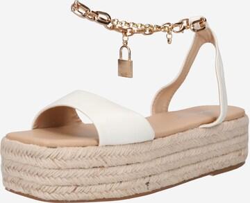 Public Desire Sandale 'DUBAI' in Weiß