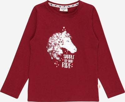 SALT AND PEPPER T-Shirt 'Friends' en marron / mélange de couleurs / rouge feu / blanc, Vue avec produit