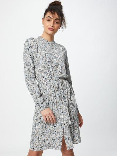 SISTERS POINT Kleid 'EFFO' in nude / navy / hellblau / weiß, Modelansicht
