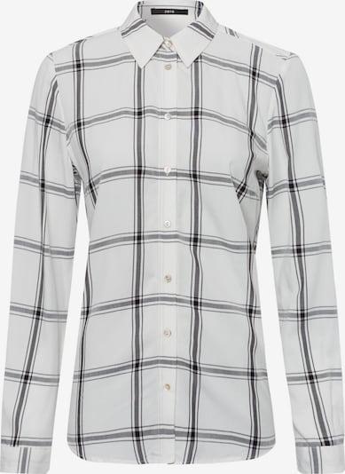 zero Bluse in schwarz / weiß, Produktansicht