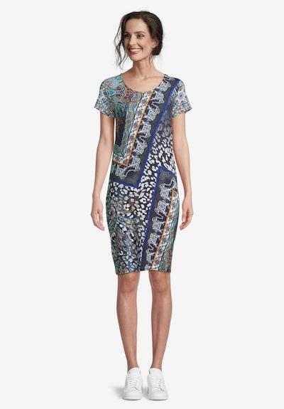 Betty Barclay Jerseykleid mit Aufdruck in blau / dunkelblau, Modelansicht