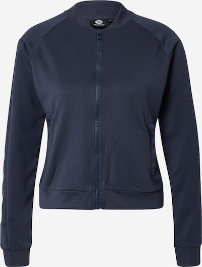 Hummel Bluza rozpinana sportowa 'Ramona' w kolorze ciemny niebieski / białym, Podgląd produktu