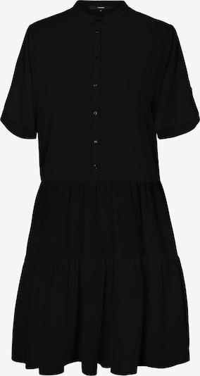 Vero Moda Petite VMDELTA 2/4 ABK DRESS WVN DA GA PETITE in schwarz, Produktansicht