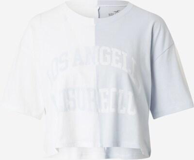 HOLLISTER T-shirt en bleu clair / blanc, Vue avec produit