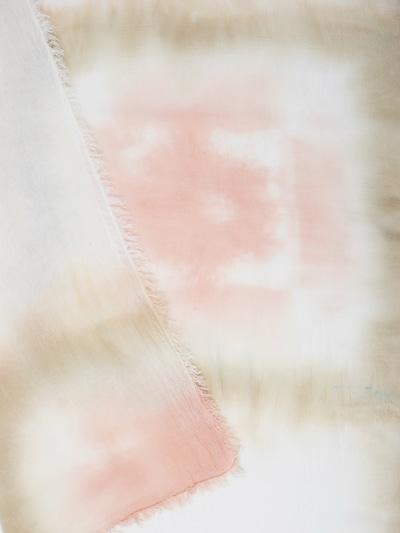 APART Schal mit ausgefallenem Print in mischfarben / rosa, Produktansicht