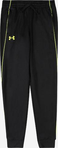 Pantalon de sport 'Pennant' UNDER ARMOUR en noir