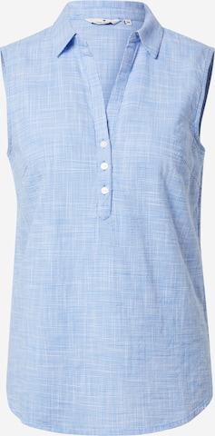 TOM TAILOR Blouse in Blauw
