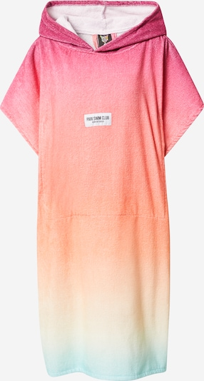 PARI Bathrobe long 'SWIM CLUB' in Aqua / Yellow / Pink, Item view