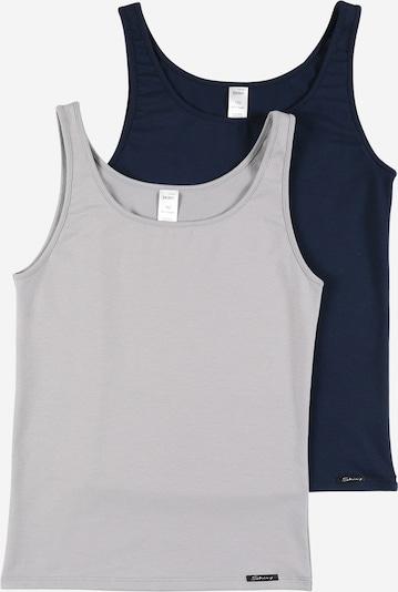 Apatiniai marškinėliai iš Skiny, spalva – nakties mėlyna / šviesiai pilka, Prekių apžvalga