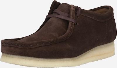 Clarks Originals Buty sznurowane 'Wallabee' w kolorze ciemnobrązowym, Podgląd produktu