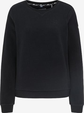 DreiMaster Maritim Sweatshirt in Black
