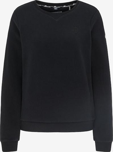 DreiMaster Maritim Sweatshirt in schwarz, Produktansicht