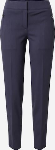 Pantaloni cu dungă 'Hesire' de la HUGO pe albastru