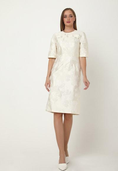 Madam-T Kleid 'Noella' in weiß, Modelansicht