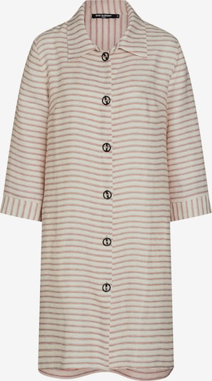 Ana Alcazar Blusenkleid 'Zemla' in hellbraun / weiß, Produktansicht