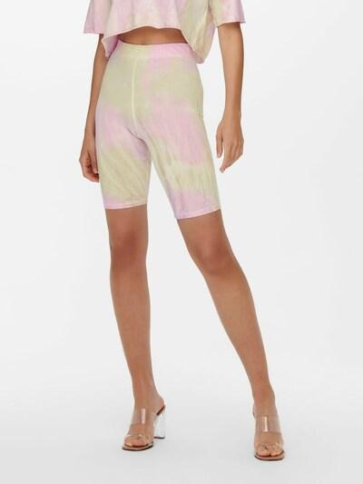 ONLY Legíny 'Vera' - béžová / svetloružová / biela ako vlna, Model/-ka
