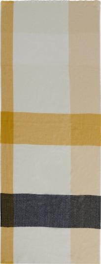 Cartoon Schal in gelb / mischfarben, Produktansicht