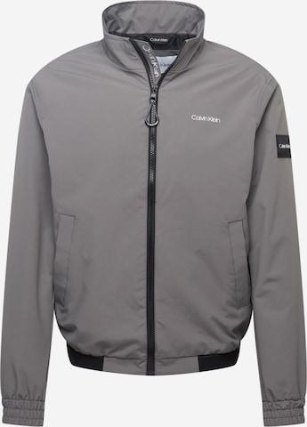 Calvin Klein Between-Season Jacket in Grey