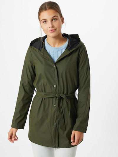 JDY Regenmantel in khaki, Modelansicht