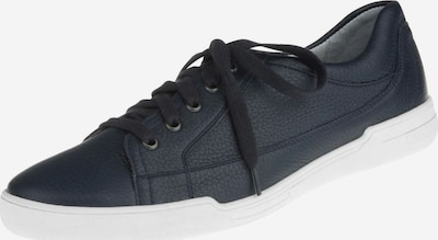 Natural Feet Schnürschuh 'Sandro' mit hohem Tragekomfort in blau / weiß: Frontalansicht