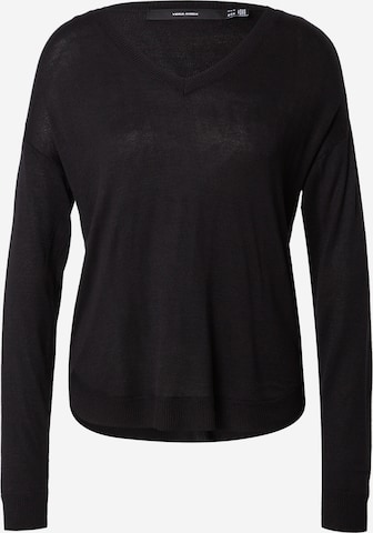 VERO MODA Sweater 'MEGHAN' in Black
