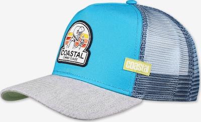 Coastal Cap in himmelblau / hellgrau / mischfarben, Produktansicht