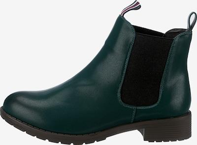 ambellis Chelsea Boots in dunkelgrün, Produktansicht