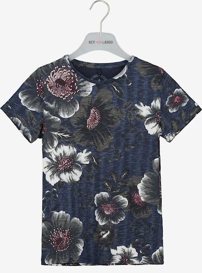 Key Largo T-Shirt 'BT NASSAU' in navy, Produktansicht