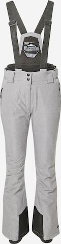 KILLTEC Spodnie outdoor w kolorze szary