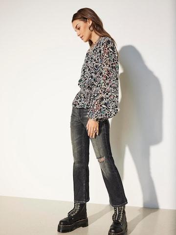 Jeans 'ONLKENYA' di ONLY in grigio