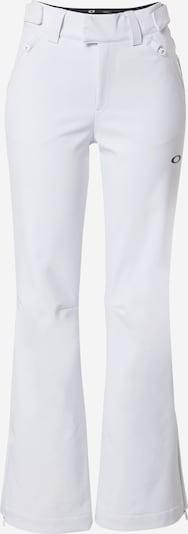 Pantaloni sport OAKLEY pe alb, Vizualizare produs