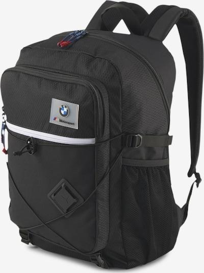 PUMA Rucksack 'BMW M Motorsport' in schwarz / weiß, Produktansicht