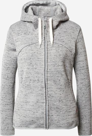 MAMMUT Sudadera con cremallera deportiva 'Chamuera Ml' en gris / negro, Vista del producto