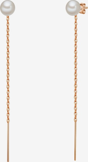 Valero Pearls Perlen-Ohrstecker in rosegold, Produktansicht