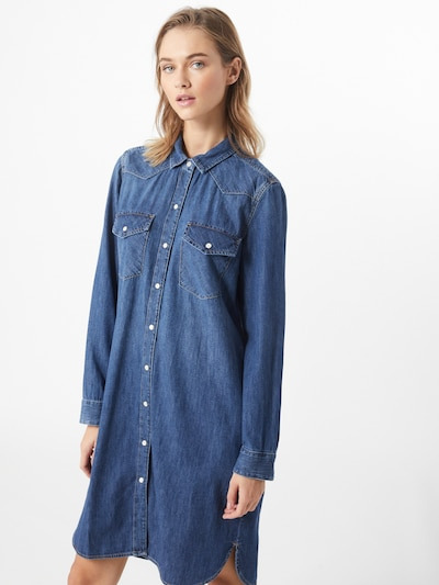 GAP Kleid 'Western' in blau, Modelansicht