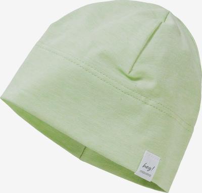 MAXIMO Mütze in hellgrün / weiß, Produktansicht