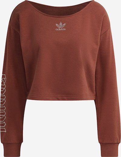 ADIDAS ORIGINALS Sweatshirt 'SLOUCHY CREW' in braun, Produktansicht