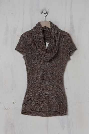 Jane Norman Sweater & Cardigan in XS-S in Taupe, Item view