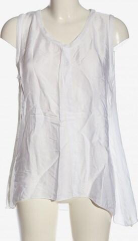 AUST ärmellose Bluse in L in Weiß