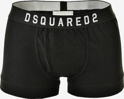 DSQUARED2  Boxershort in schwarz / weiß, Produktansicht