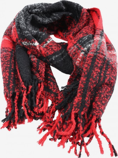 PIECES Scarf & Wrap in One size in Red / Black / White, Item view