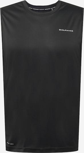 Tricou funcțional 'Lasse' ENDURANCE pe negru, Vizualizare produs