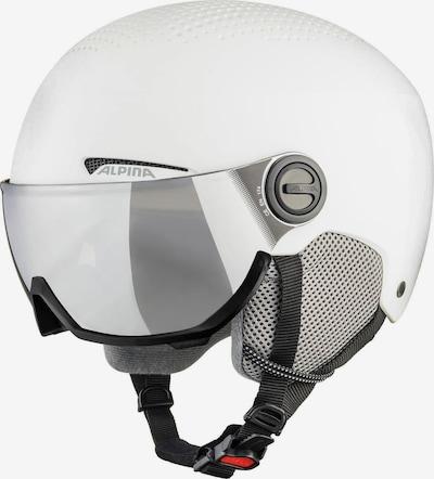 Alpina Skihelm 'Visor' in weiß, Produktansicht