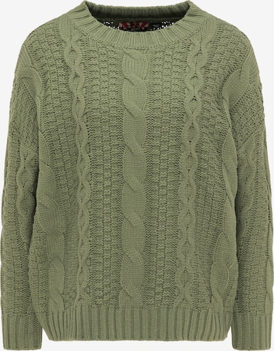 myMo ROCKS Oversize sveter - zelená, Produkt