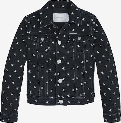 Calvin Klein Jeans Tussenjas in de kleur Antraciet / Wit, Productweergave