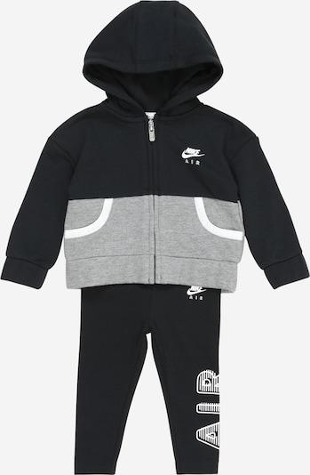 Tuta da jogging Nike Sportswear di colore grigio sfumato / nero, Visualizzazione prodotti