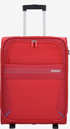 American Tourister Trolley 'Summer Voyager' in de kleur Rood / Wijnrood / Wit, Productweergave